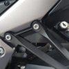 Ninja1000のヘルメットロックホルダーのステーを交換しました。