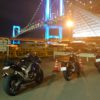 Ninja1000とRebel250で都内をナイトツーリング