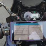 6.4インチスマホ(Xperia Z Ultra)をバイク用ナビにするために、マウントを自作してみました。