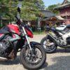 Ninja1000とCB1000Rで茨城までツーリングに行ってきました