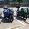 Ninja1000 × 4台で 秩父から山梨方面へツーリングに行ってきました。