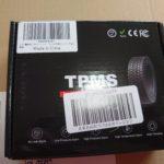 TPMS オートバイ タイヤ空気圧センサーを購入しました