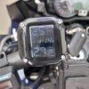 空気圧センサー TPMSの位置を変更してみた